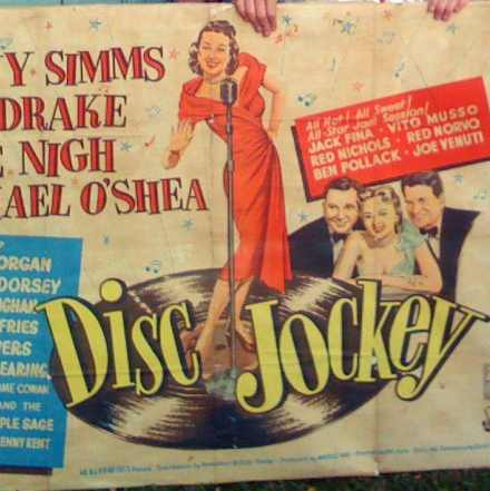 Disc Jockey – Original Movie Poster 1951