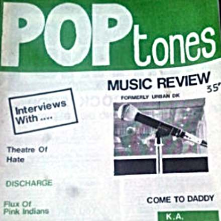 Pop Tones – Dublin Fanzine 1982? featuring Some Kind of Wonderful