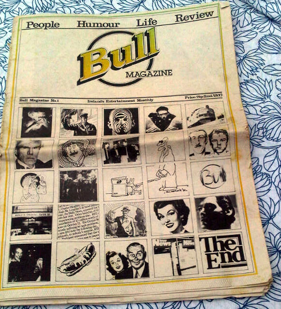 Bull Magazine issue 1 1982 - Dublin Nightclubs  + Call the IMF!