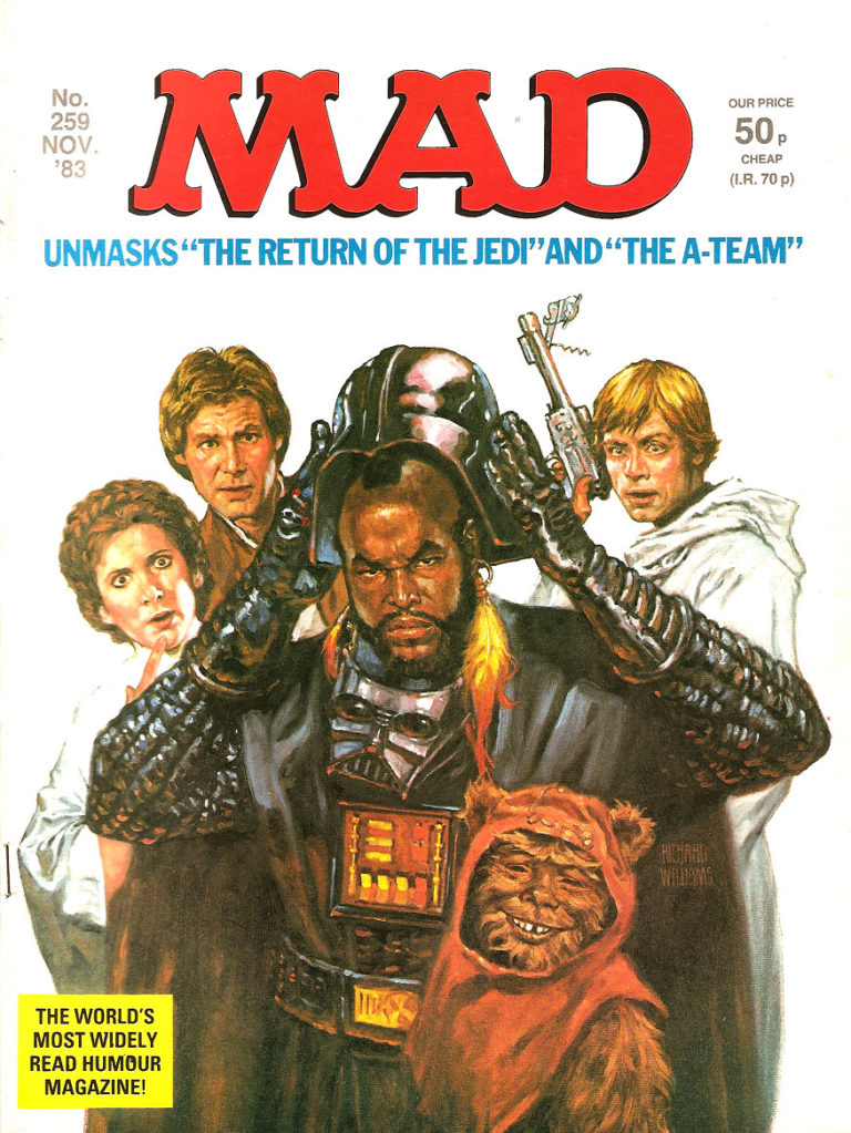 Mad Magazine 1983 – Return of the Jedi