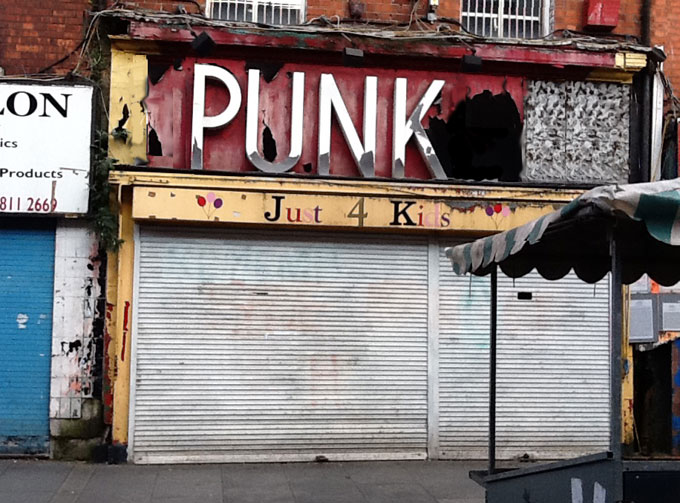 If Plunkett went Punk, Moore St, Dublin