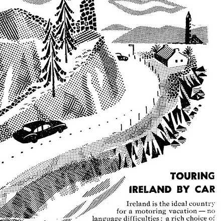 Old Adverts #37 – Tour Ireland by Car – 1957