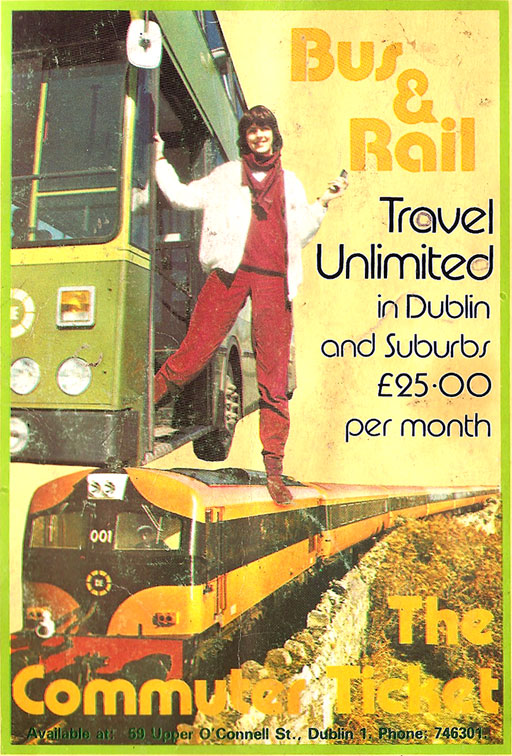 integrated ticket dublin bus rail1982