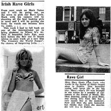 Another Girl Another Spotlight – Irish Rave Girls – 1970