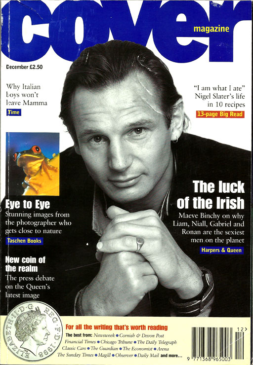 Cover Magazine UK – Issue 3 1997 – Sexy Irish Men