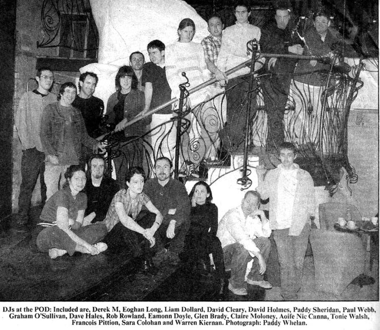 David Holmes & too many DJs, Dublin – June 1996