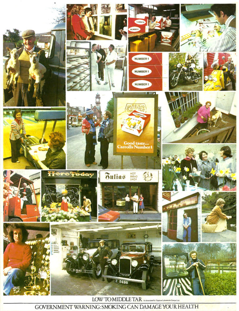 Old Adverts #79 – Carrolls Number 1 Cigarettes- 1980