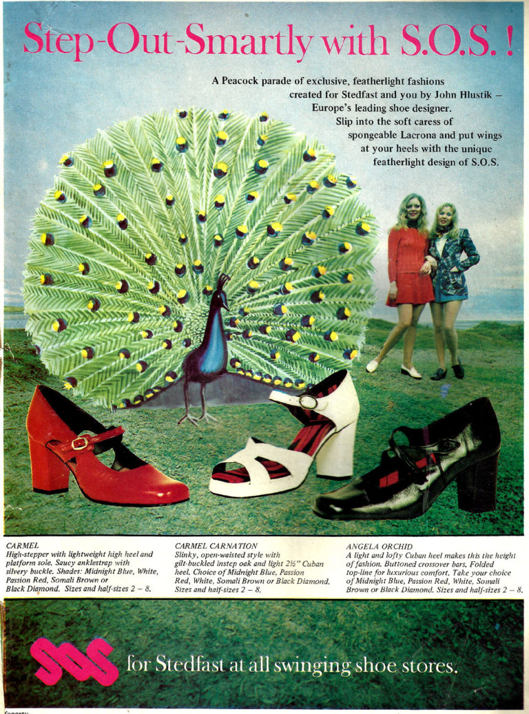 Old Adverts #95 – Steadfast Shoes – 1972