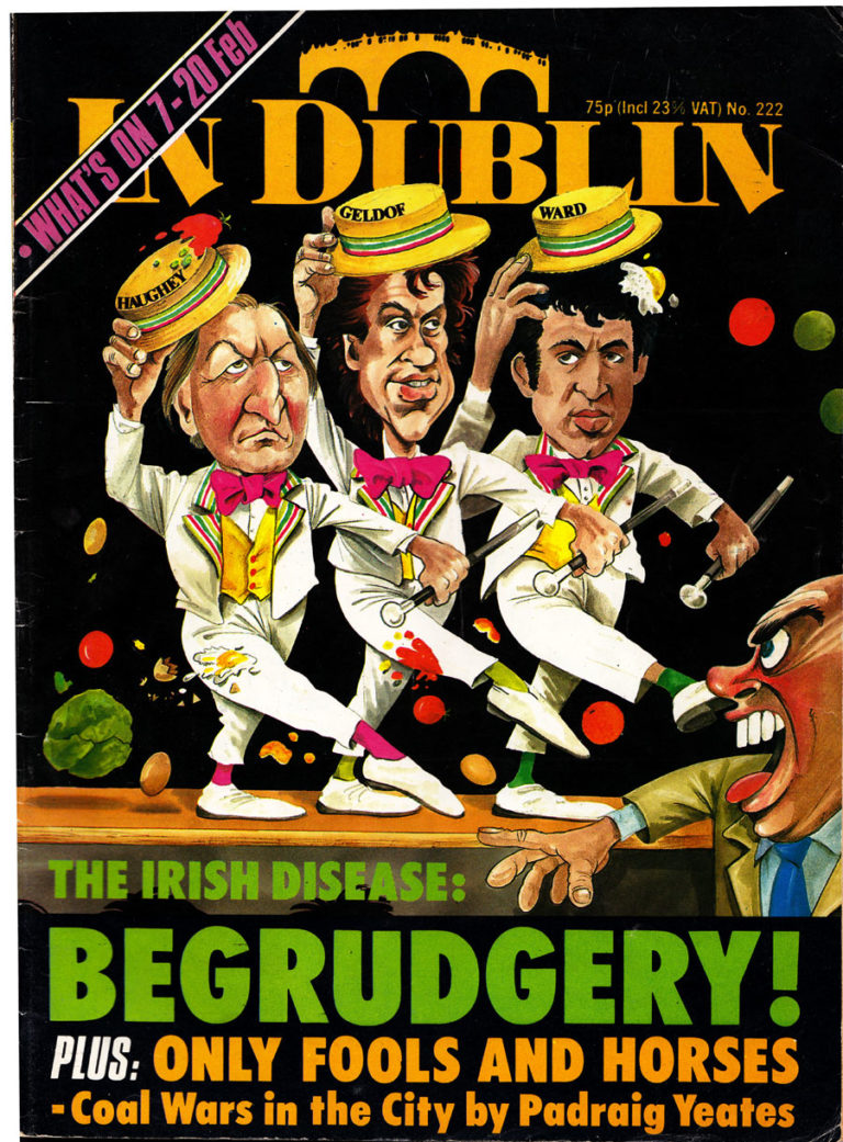 Begrudgery! In Dublin Magazine, 1985