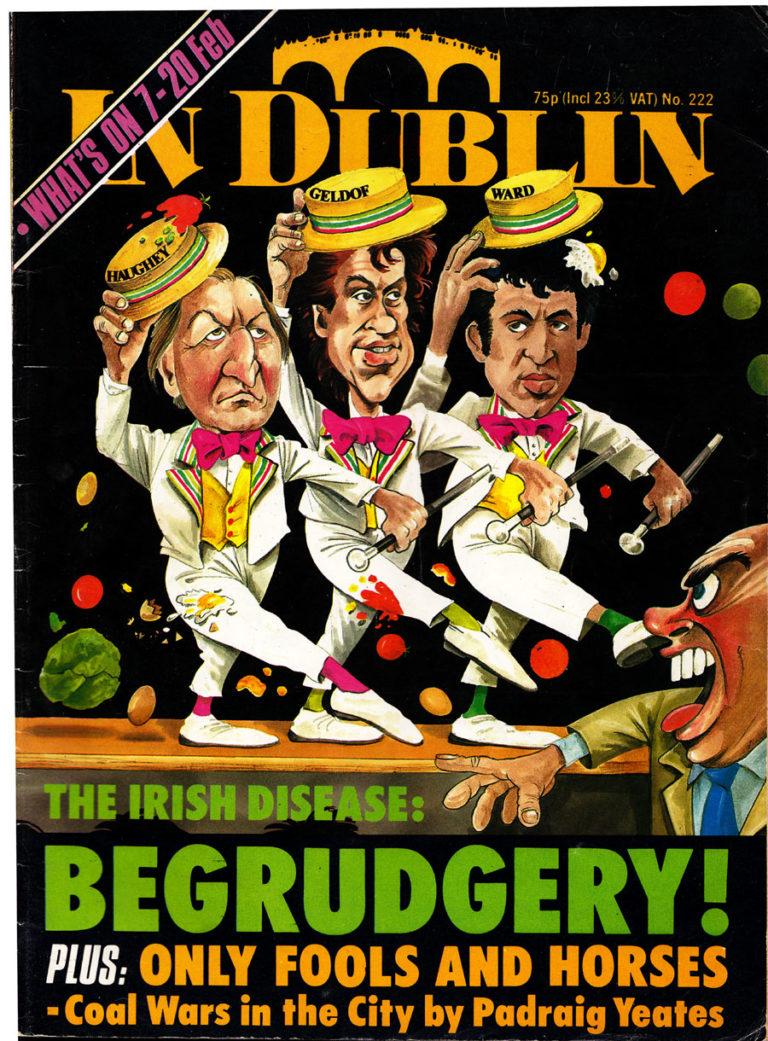 Begrudgery! In Dublin Magazine, 1985