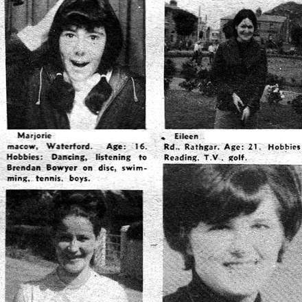 Readers Club - Irish Pen Pals -1968
