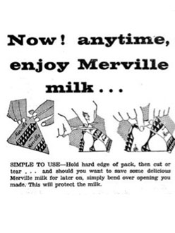 Old Adverts #98 – Merville Milk, Finglas, Dublin 1961