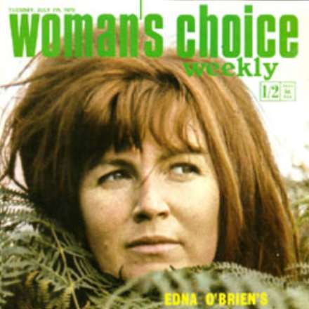 Woman's Choice, July 1970 – Edna O'Brien on Cover
