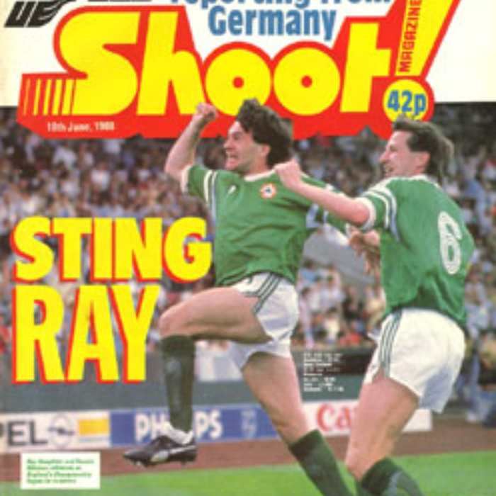 Ireland 1 England 0 - Stuttgart,  12th June 1988 - Shoot Magazine