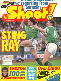 Ireland 1 England 0 – Stuttgart,  12th June 1988 – Shoot Magazine