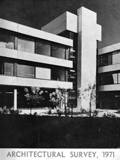 1971 Irish College Architecture – UCD, Waterford RTC & New Wesley