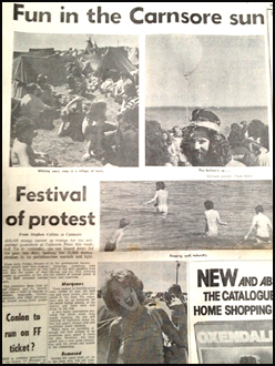 Carnsore Point Anti-Nuclear Festival, Wexford – August, 1979