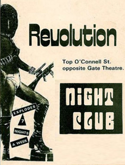 Old Adverts #4 - Dublin Night Clubs 1974