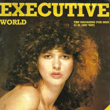 Executive - Entertainment for Irish Men 1979/82 - 8 Front Covers