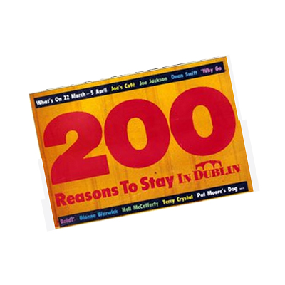 200 Reasons to stay In Dublin – March 1984