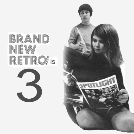 Brand New Retro is 3 years old!