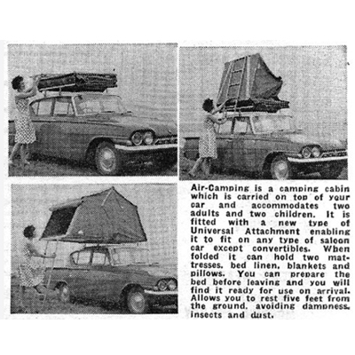 Old Adverts #67 - Air-Camping 1965