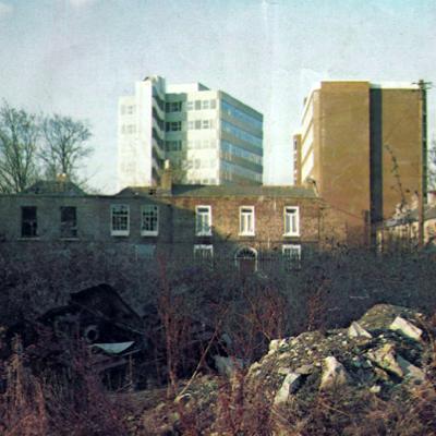 In Dublin Jan 1982 -  Why Does Dublin look like this? + 1st Aosdana