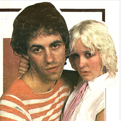 Bob Geldof + Paula Yates - Sunday World 1978