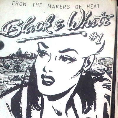 Black & White - Dublin Fanzine 1979.