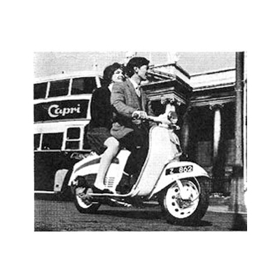 Old Adverts #90   - Garelli Record, Moped & Capri - 1971