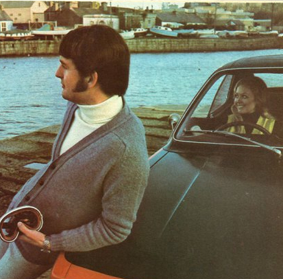 Pure New Wool & Opel Cars - Irish Fashion Catalogue 1971