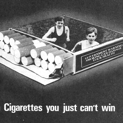 3 Anti Smoking Adverts - 1971/72