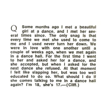 Dance Hall 1968