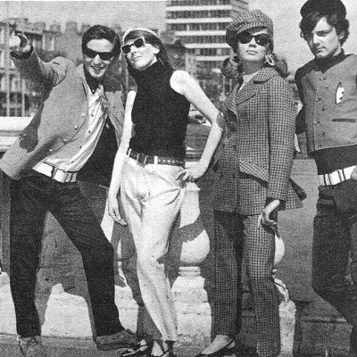 One Mod Day in Dublin 1966! - Miss Magazine Fashion Shoot