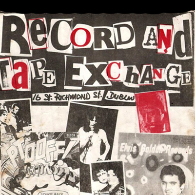 Old Adverts #7 - Record & Tape Exchange, Dublin