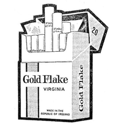 Old Adverts #18 - Wills of Cork & Dublin, Gold Flake, 1962.