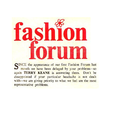 Fashion Forum Red Marks