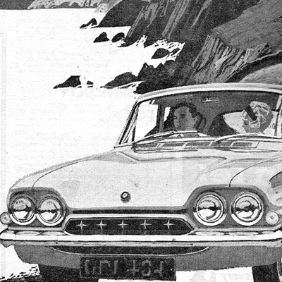 Old Adverts #107 - Consul Classic from Ford Ireland, 1962