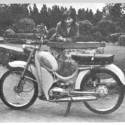 Old Adverts #25 – Garelli Moped, 1966