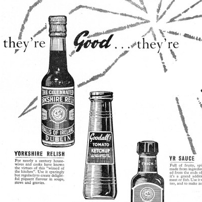 Old Adverts #66 – Goodalls Sauces, 1961