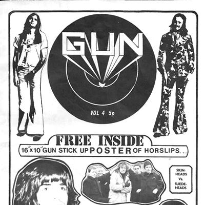 Gun – Irish Music Mag #4 – 1972