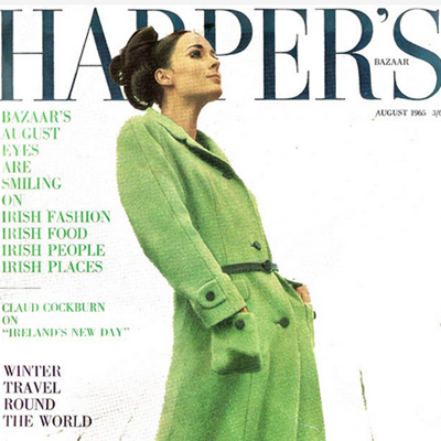Harpers Bazaar 1965 - Ireland on the Move