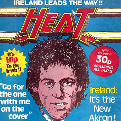 Dublin Fanzine - Heat issue 10 - 1978 - Hip to be Irish!