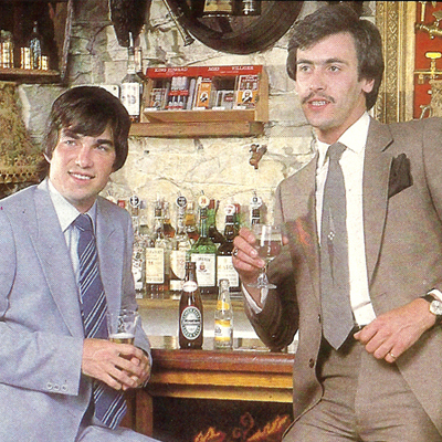 Men's fashion at the Hole In the Wall Pub, Dublin 7 – 1979