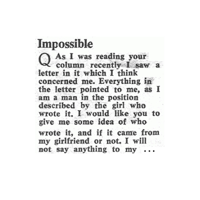 Impossible - 1968