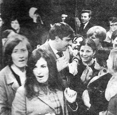 The 17 Club, Live Artists & DJ Larry Gogan, RTE Radio, Mid 60's