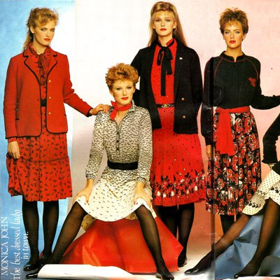 Old Adverts #80 - Monica John Fashions, Dublin,Cork,Bantry - 1982