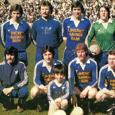 Limerick United FC with Joe O'Mahony (RIP) – Shoot Magazine 1980