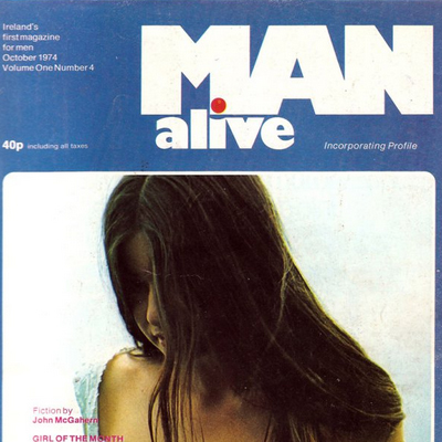 Man Alive # 4 – Oct. 1974 – Glad to be still alive