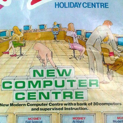 Old Adverts #9 - Mosney Holiday Centre 1984